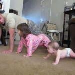 pompe muscu papa et enfants