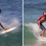 enfant surf dos papa