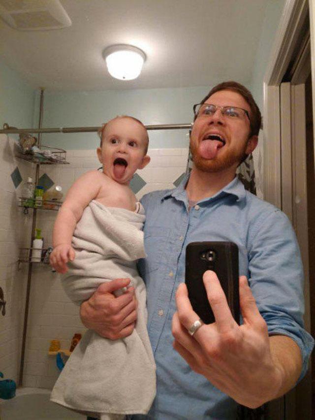 spiderman papa et enfant