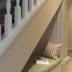 escalier banquette