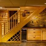 escalier vin