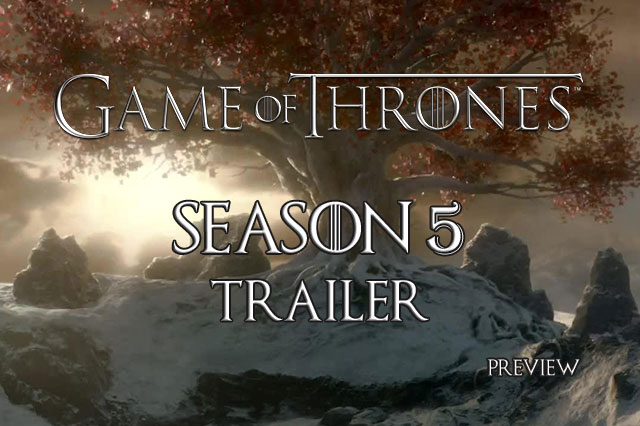 trailer game of thrones 5