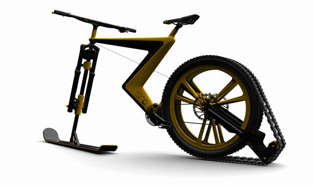 vélo neige