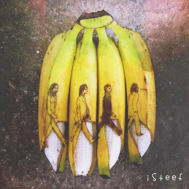 banane girafe