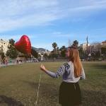 ballon saint valentin