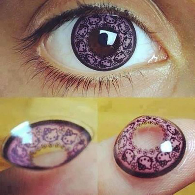 lentilles hello kitty