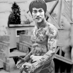 Bruce Lee tatoué