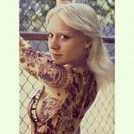 Chloë Sevigny tatouée