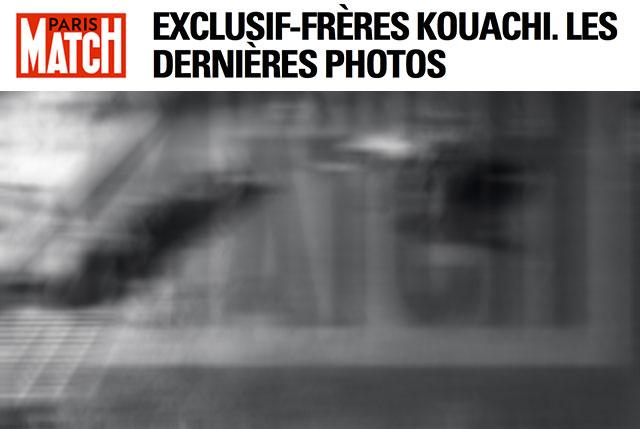 photo cadavres frères kouachi