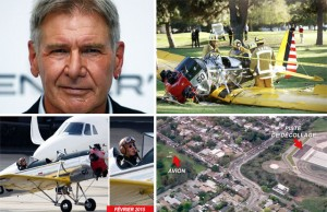 Accident avion Harrison Ford