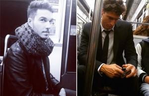 beau gosse metro