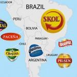 carte monde biere
