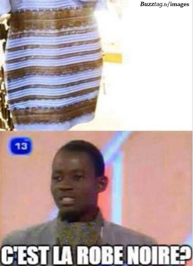 C'est la robe noire