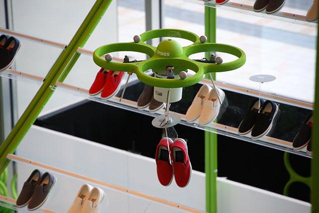crocs drone
