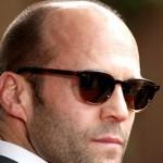 Jason Statham chauve