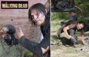 les coulisses de walking dead