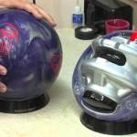 boule de bowling vue en coupe