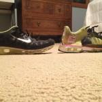 chaussures vue en coupe