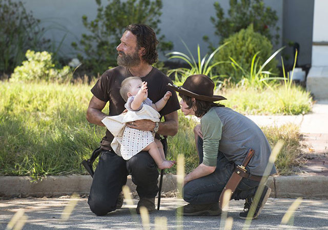 coulisses walking dead