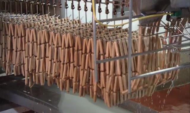 Fabrication saucisse knacki