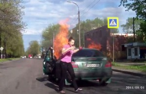 voiture cigarette gaz