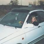 Angelica Kenova à l'age de 18 ans