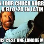 Chuck Norris facts francais