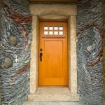 entrée de pierre