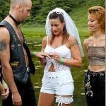 robe de mariée short