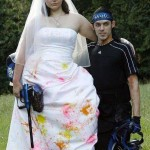 robe de mariée paintball