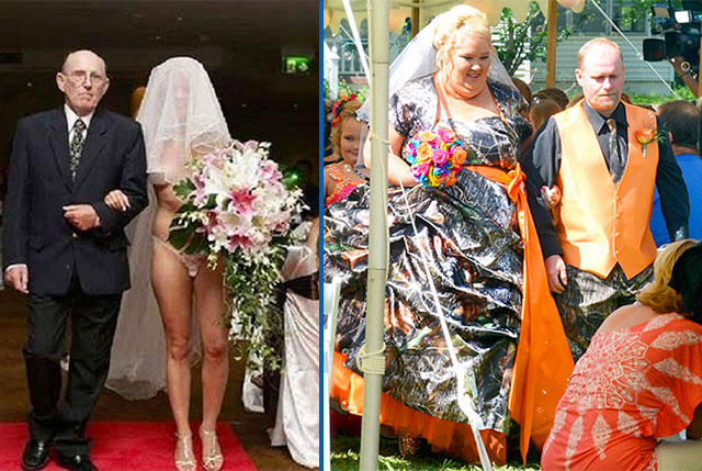Top 30 Des Robes De Mariees Horribles