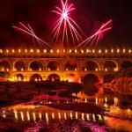 Feu d'artifice du Pont du Gard