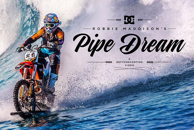 moto cross sur eau