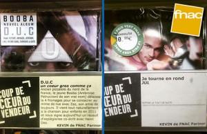 vendeur fnac CD