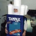 costume tampax