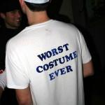 le pire des costumes d'halloween