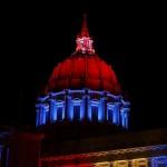 San Francisco bleu blanc rouge