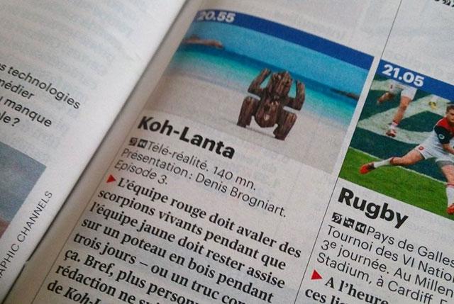 koh-lanta télérama