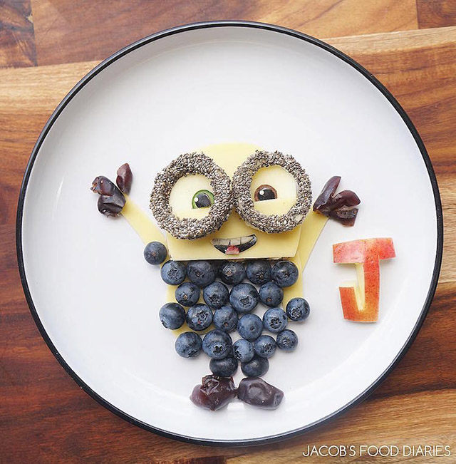 nourriture dessins animés